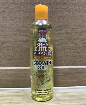 AFRICAN PRIDE SHEA BUTTER MIRACLE GROWTH OIL - 237ml